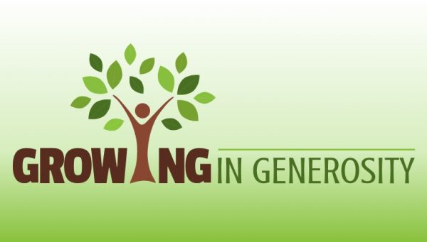 Growing in Generosity 2018